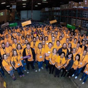 NTT America spends an afternoon at Feeding America to givehellip