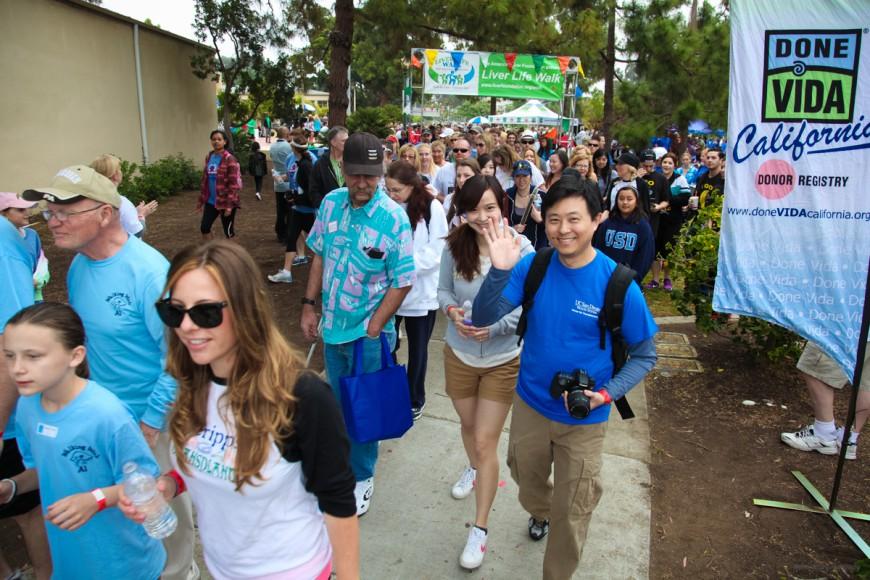 Liver Life Walk San Diego 2013, San Diego Zoo and Balboa Park, American Liver Foundation