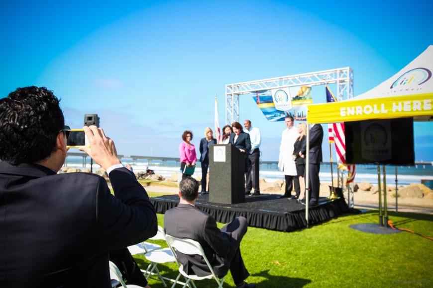 Covered California Ocean Beach Lauch Event, October 1, 2013 for Ogilvy