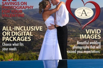 Andrew Abouna San Diego Wedding Photographer Sale Valentines 2014