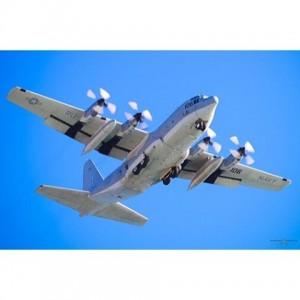 US Navy Lockheed C130T Hercules RU 160 on Approach httpabounaphotocomhellip