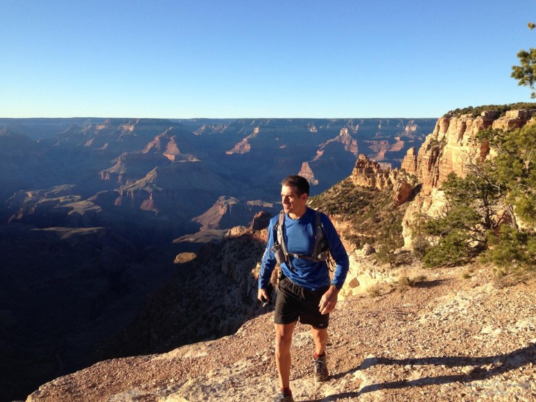 Running High - Grand Canyon March 2014