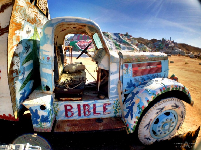 Running High - Salvation Mountain March 2014