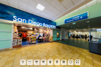 San Diego Airport Virtual Tour of Commuter Terminal by Andrew Abouna Photography