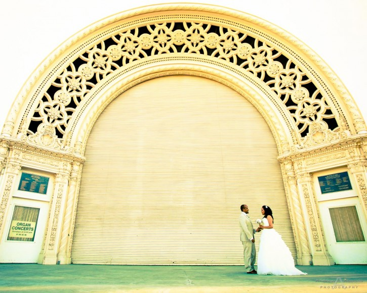 Selam and Nebiyu Balboa Park Wedding Photo by San Diego Wedding Photography Andrew Abouna