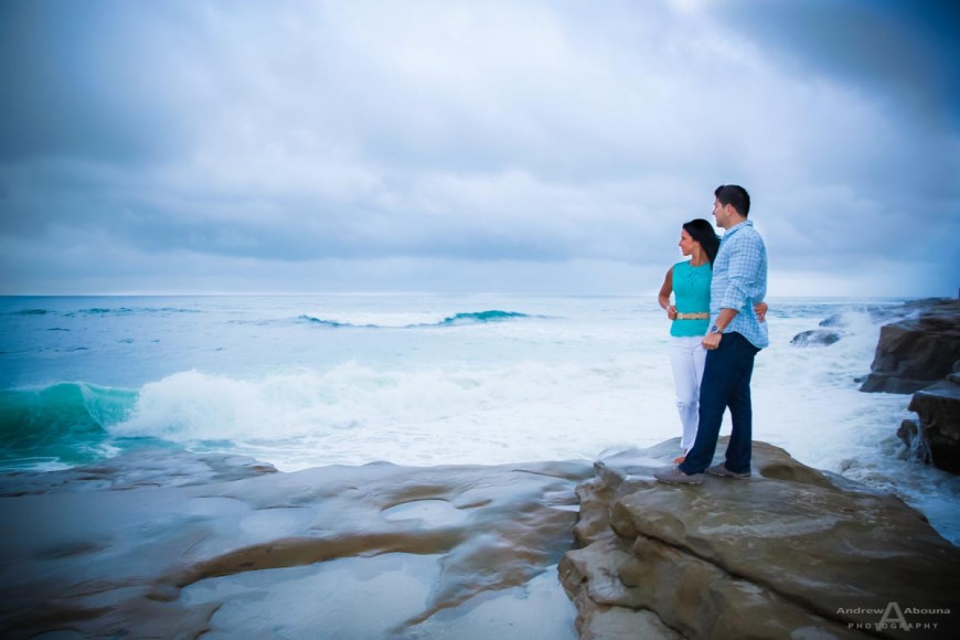 Lindsay and Jim Engagement Photos La Jolla 042514 by San Diego Wedding Photographer Andrew Abouna