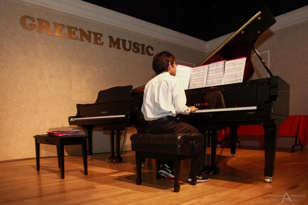 Piano Recital 2014 Presented by Shirlyne Humphrey at Greene Music_San Diego Photographer Andrew Abouna