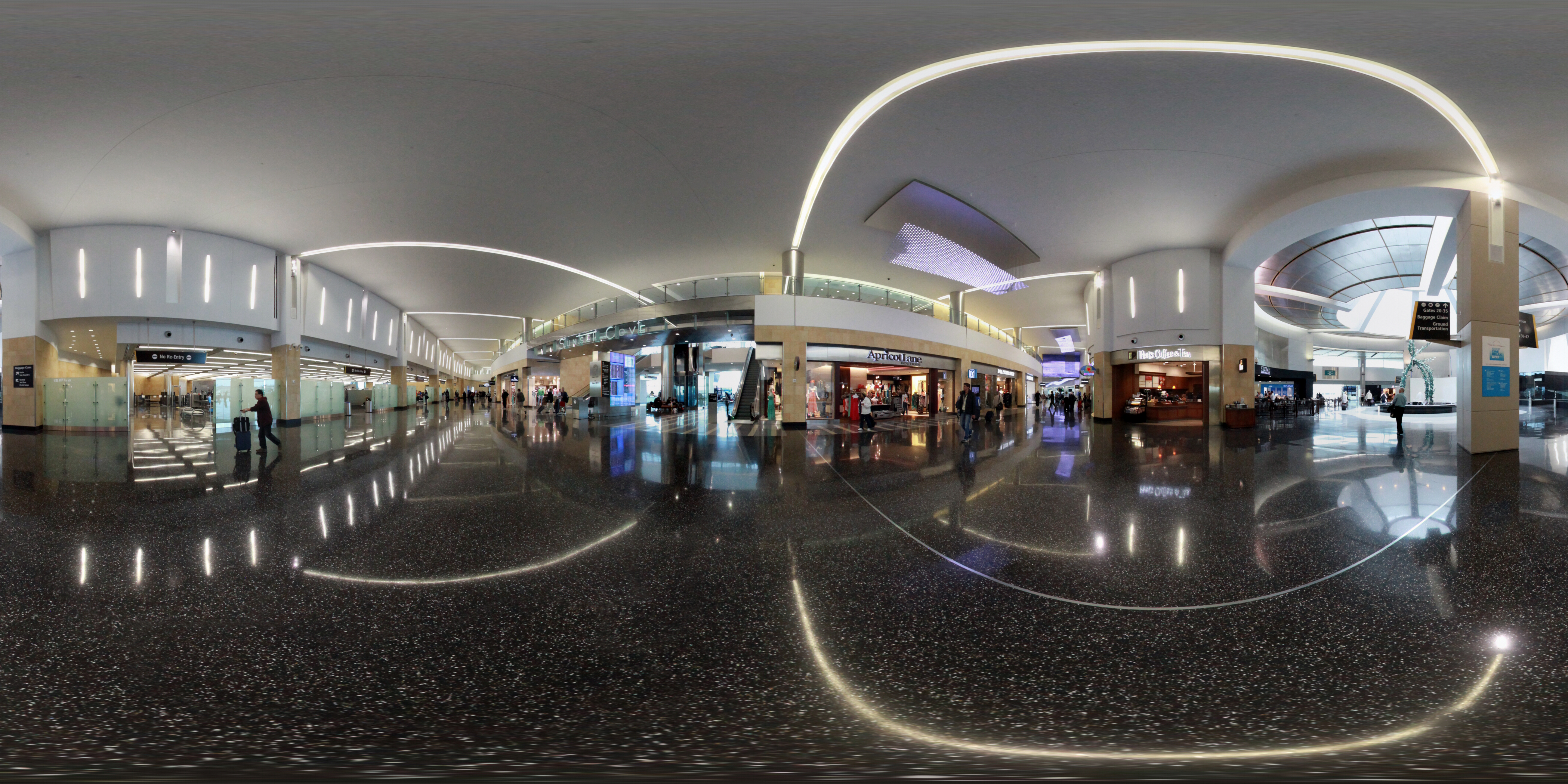 San Diego Airport 360 Virtual Tour at Sunset Cove