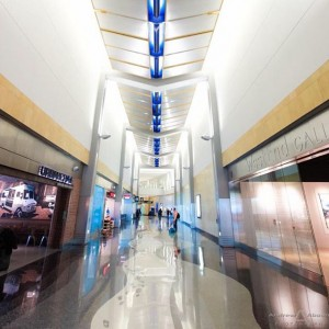 San Diego International Airport Photography Architectural design of shapes colorshellip