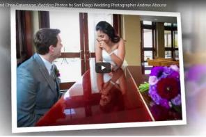 Catamaran Resort Wedding Photos Video by top professional wedding photographer AbounaPhoto