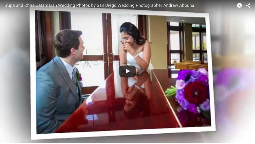 Catamaran Resort Wedding Photos Video by top professional wedding photographer AbounaPhoto