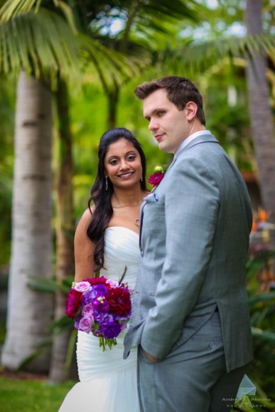 Krupa and Chris Catamaran Wedding Photos by San Diego Wedding Photographer Andrew Abouna