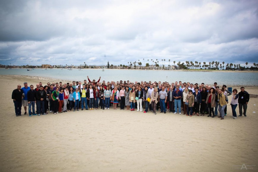Schneider Electric Team Building Activities Photos by San Diego Photographer Andrew Abouna