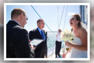 Yacht Wedding Video in San Diego by Wedding Photographers Andrew Abouna