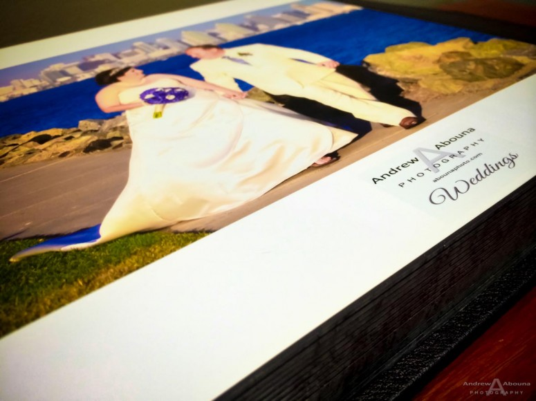 10x10 Delux Leather Wedding Album for Melissa and Sean by San Diego Wedding Photographer Andrew Abouna-0145