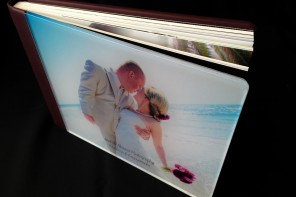 Crystal Glance Acrylic 8x12 Wedding Album and 4x5 Parent Book_GraphiStudio Italy by San Diego Photographer Andrew Abouna-1