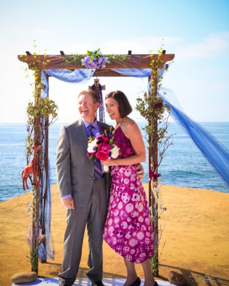 June and Scott Sunset Cliffs Wedding by San Diego Wedding Photographers Andrew Abouna