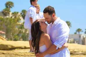 Rachel and Anthony La Jolla Beach Wedding by San Diego Wedding Photographers Andrew Abouna