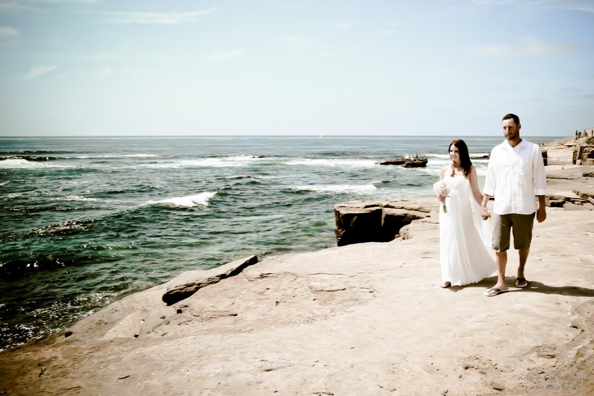 rachel and anthony la jolla beach wedding by san diego