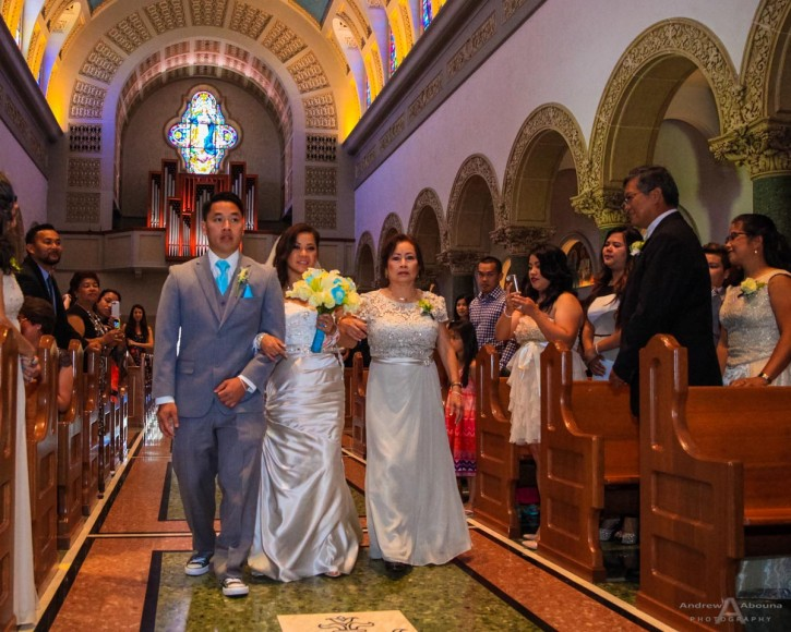 Sheila and Eugene Immaculata San Diego Wedding by San Diego Wedding Photographers Andrew Abouna