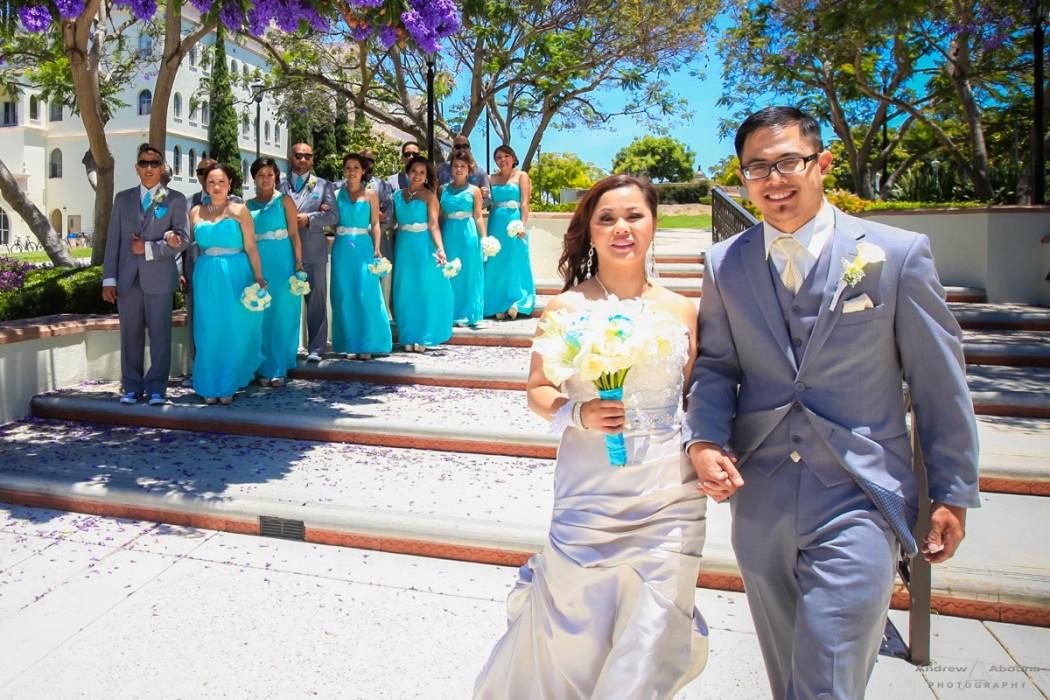 Sheila and Eugene Immaculata San Diego Wedding by San Diego Wedding Photographers Andrew Abouna