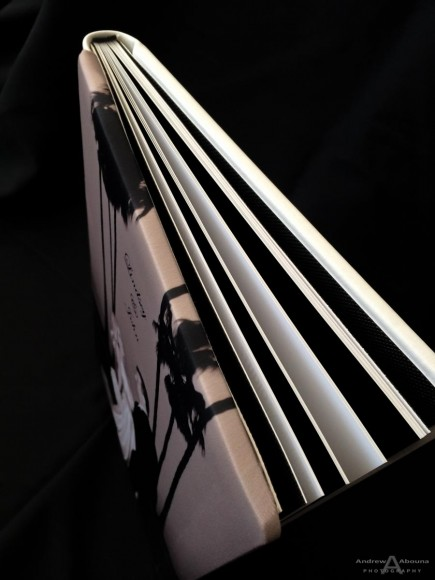 Silk Covered 9x13 Wedding Album_GraphiStudio Italy by San Diego Photographer Andrew Abouna-2