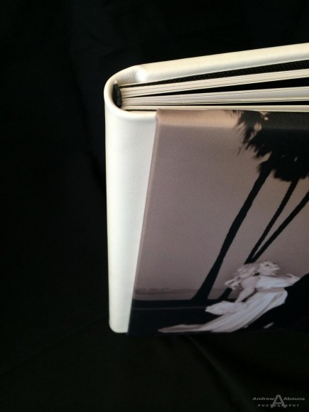 Silk Covered 9x13 Wedding Album_GraphiStudio Italy by San Diego Photographer Andrew Abouna-3