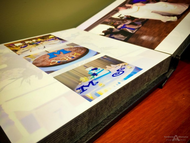 10x10 Delux Leather Wedding Album for Melissa and Sean by San Diego Wedding Photographer Andrew Abouna-0144