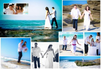 Collage of Family Photos by San Diego Portrait Photographer Andrew Abouna-1