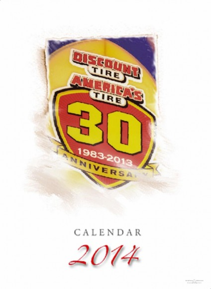 Commemorative Event Album Calender for Discount Tire - San Diego Event Photographers Andrew Abouna
