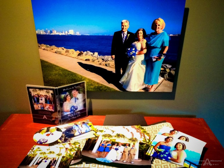 Professional Wedding Prints and DVD by San Diego Wedding Photographer Andrew Abouna-0146