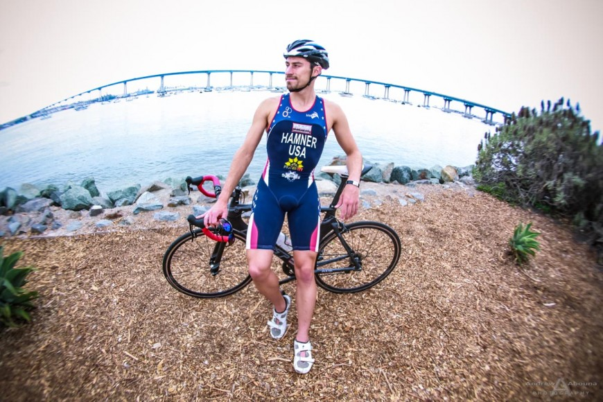 Zack Triathlete Photo Shoot by San Diego Photographer Andrew Abouna