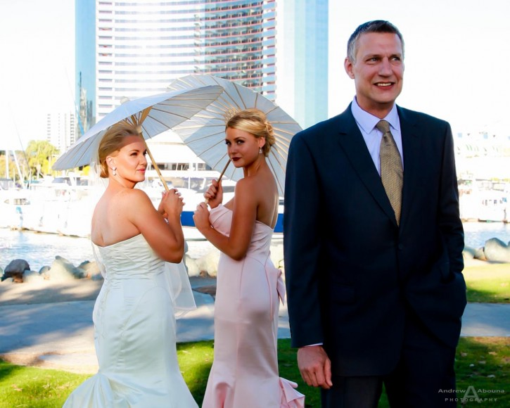 Milla and Kevin Seaport Village Wedding by San Diego Wedding Photographer Andrew Abouna