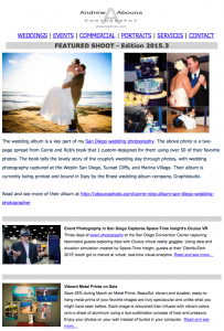 San Diego Photographer Andrew Abouna_Newsletter 2015.3