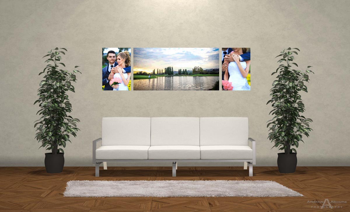 Wedding Photo Print Ideas Wall Display Mockup By San Diego Photographer Andrew Abouna 2
