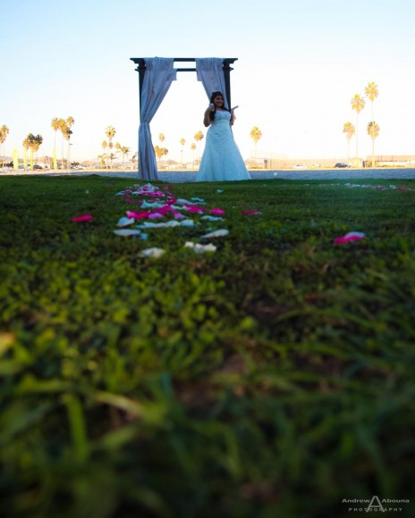 Kristen and David Mission Beach Womens Club Wedding by San Diego Wedding Photographer Andrew Abouna