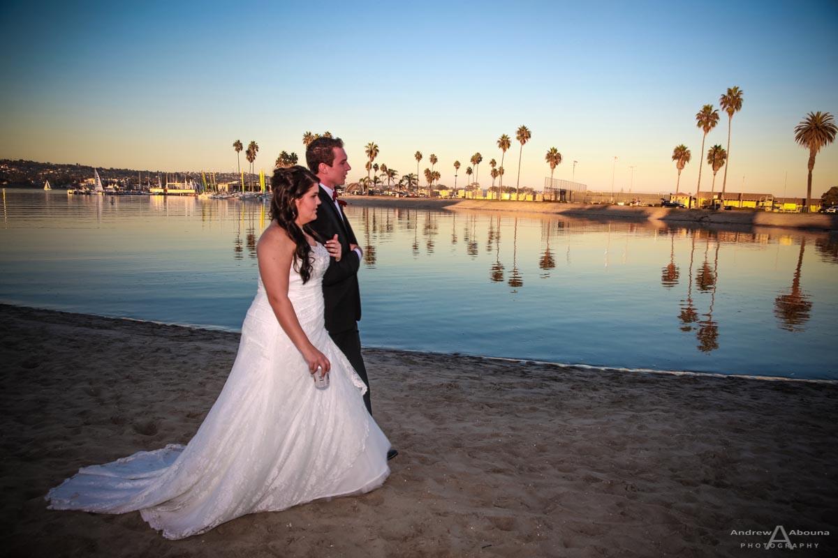 Kristen And David Mission Beach Womens Club Wedding By San Diego Wedding Photographer Andrew