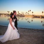 Kristen and David Mission Beach Women's Club Wedding