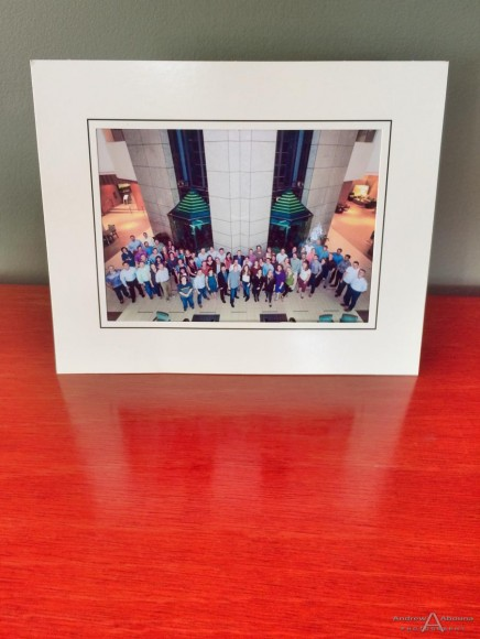 Microsoft NSO San Diego Event Photography Group Photo Print in Easel