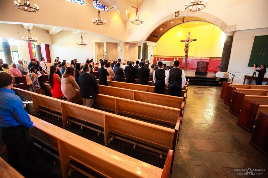Ritafe and Jeff St Stephen Roman Catholic Church Wedding by San Diego Wedding Photographers Andrew Abouna