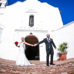 Valerie and Raul Mission San Diego de Alcala Wedding