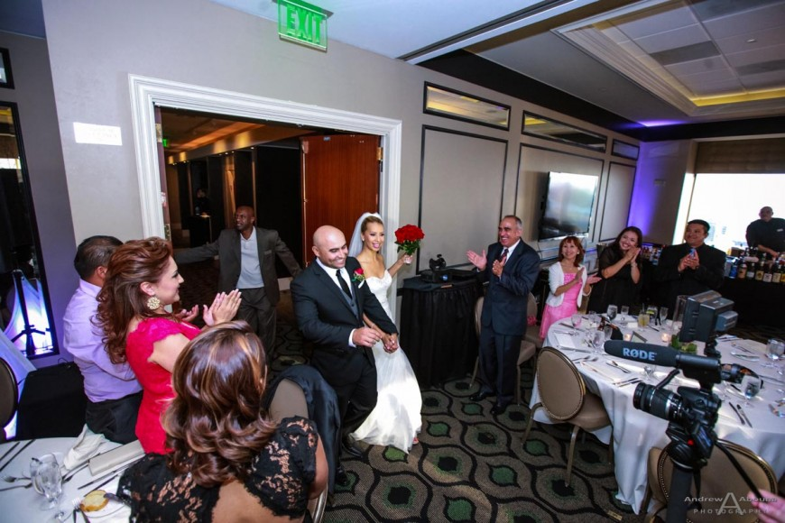 Valerie and Raul University Club San Diego Wedding Reception by San Diego Wedding Photographers Andrew Abouna
