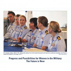 Military Photography for Womens Symposium Published in USCG Reservist Eventhellip