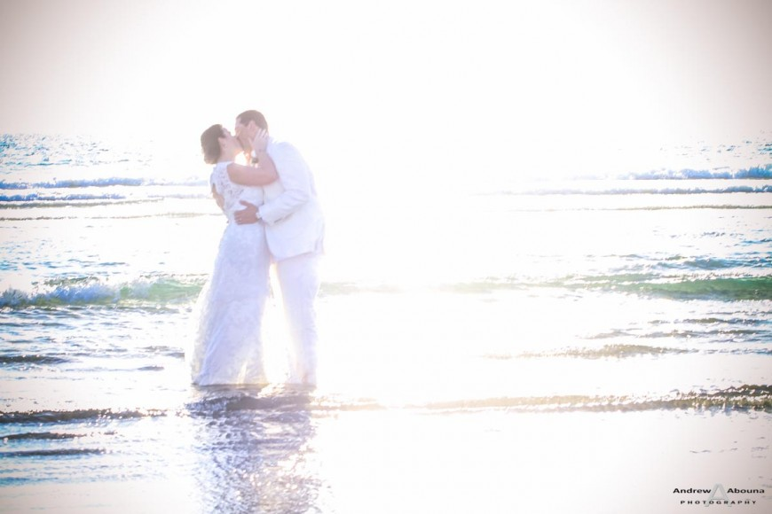 Debra and Aldrick Coronado Beach Wedding by San Diego Wedding Photographers Andrew Abouna