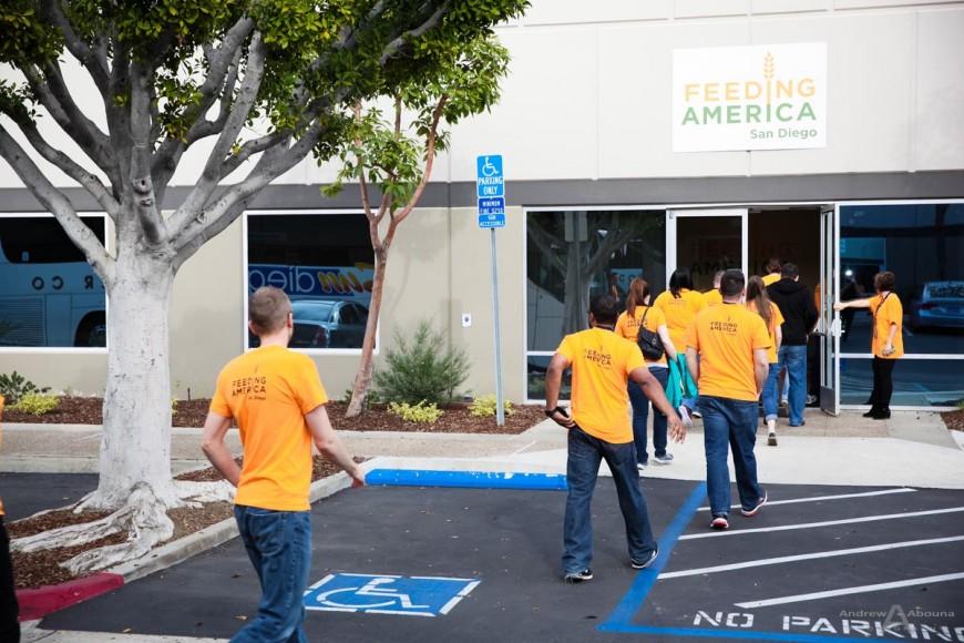 NTT America - Feeding America San Diego - San Diego Photographer Andrew Abouna