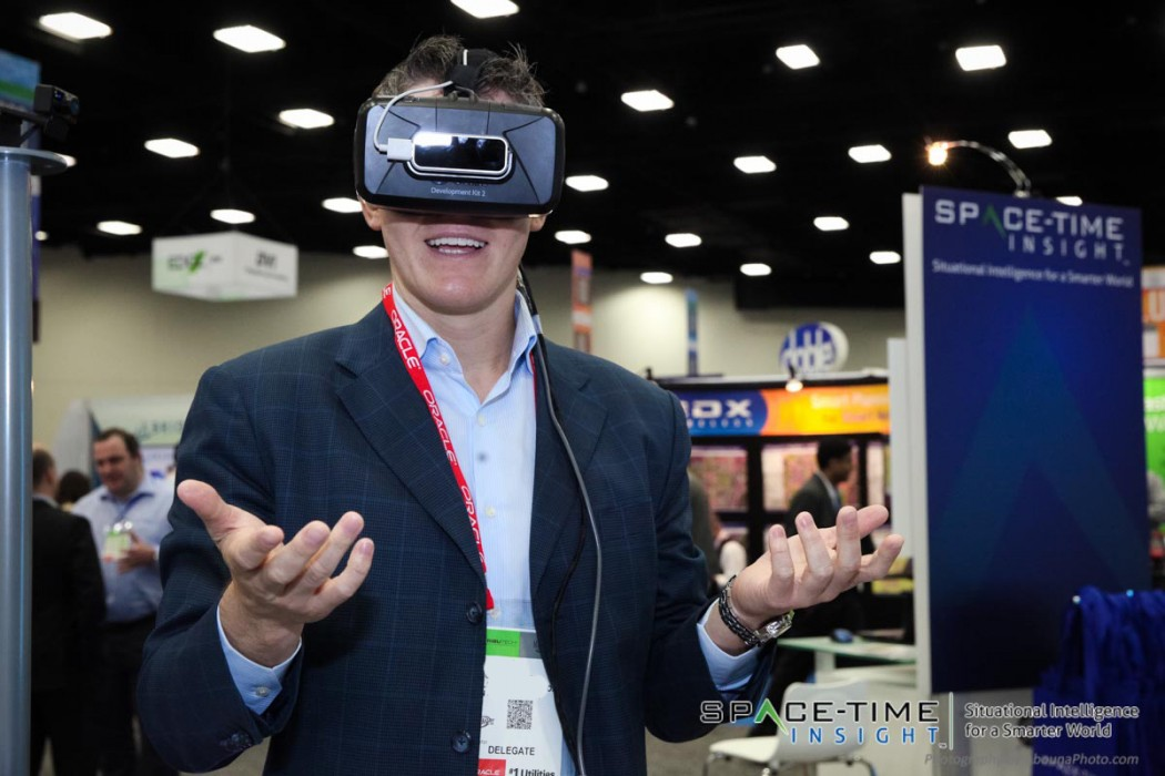 Space-Time Insight Oculus Experience at DistribuTech 2015 by San Diego Event Photographer Andrew Abouna