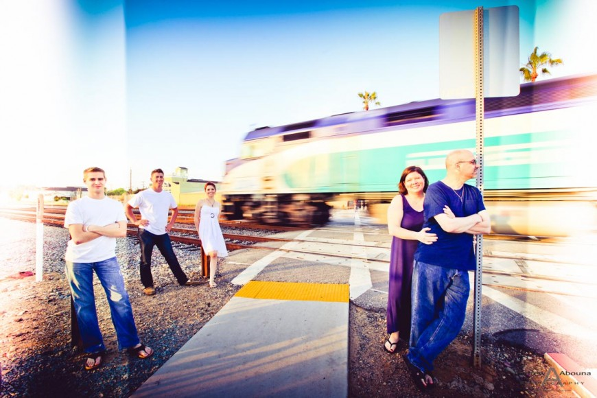 Brittany Paul Family Portraits Oceanside California by San Diego Photographers Andrew Abouna