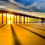 Sunset at Scripps Pier
