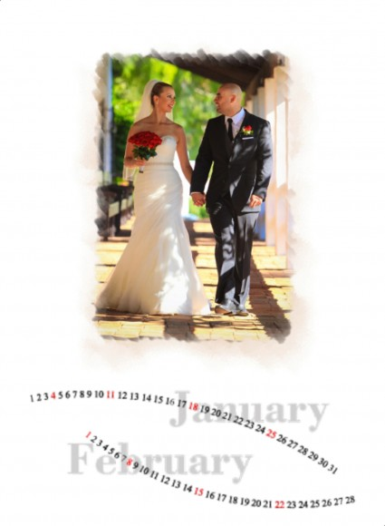 Valerie and Raul wedding calendar by San Diego Wedding Photographers Andrew Abouna_002