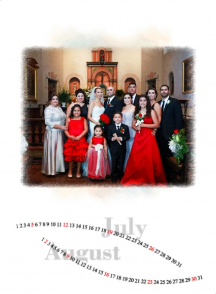 Valerie and Raul wedding calendar by San Diego Wedding Photographers Andrew Abouna_005